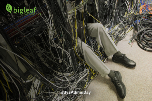 Happy #SysAdminDay!